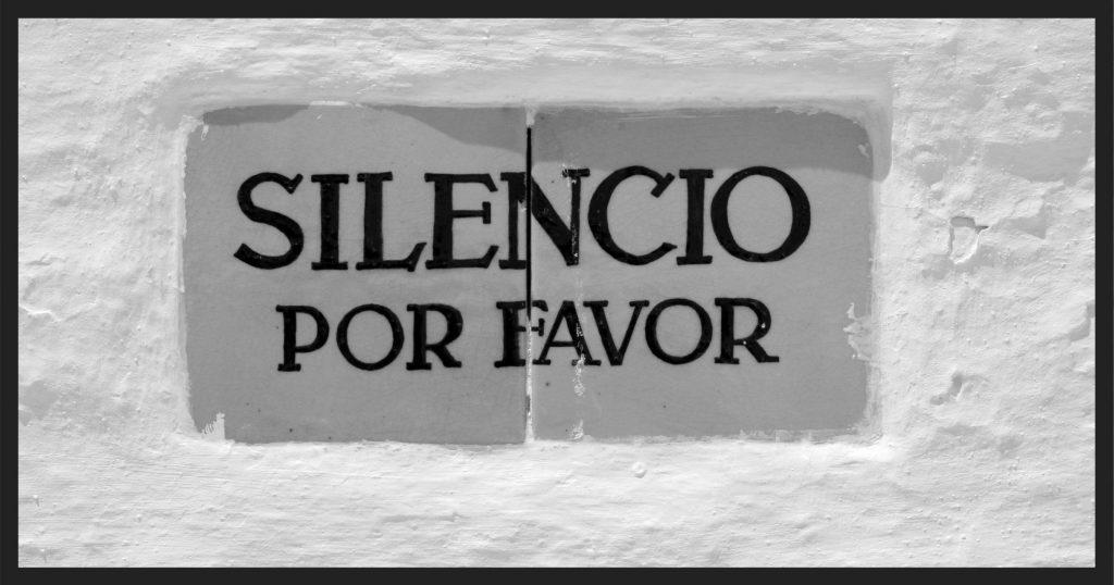Silencio por favor